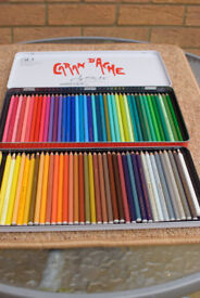 80 Caran D'Ache Supracolor Aquarelle water soluble pencils (2 missing but otherwise barely used