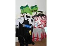 CAR BOOT BUNDLE / JOB LOT RESALE BRAND NEW WITH TAGS 13 KIDS FANCY DRESS COSTUMES POLICE CHEERLEADER