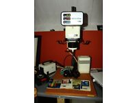 PHOTOGRAPHIC ENLARGER AND ALL EQUIPMENT