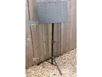 A Kingsman Collapsible Music Stand