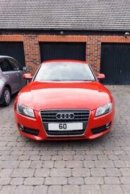 Audi A5 Coupe - Brilliant Red