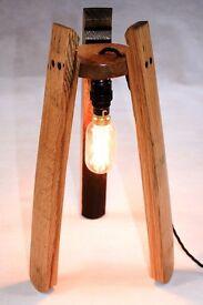 Scotch Whisky Barrel Stave Hanging Edison Lamp