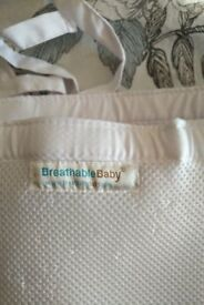 Breathable cot bumpers (BreathableBaby)