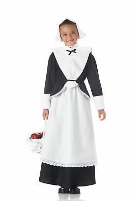 Colonial Pilgrim Girl Thanksgiving Child Costume