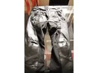Woman's leather trousers