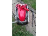 New Flymo Visimo 1200 watt lawnmower for sale, ( unboxed )