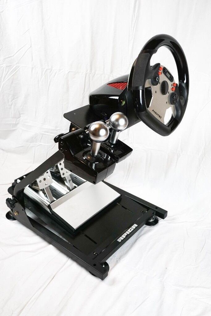 Fanatec CSR Elite Wheel, Pedals, Sifters & Apiga Stand | in Denton,  Manchester | Gumtree