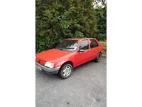 Peugeot 205 1.1 - 1995 (N) Cherry Red Low mileage