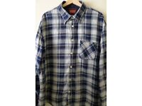 Levis Strauss & Co Men's Long Sleeve Checked Shirt