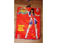 I HAVE 2 FANCY DRESS UNION JACK DRESSES FOR SALE GREAT FOR PARTIES