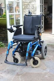 Invacare mirage powered wheelchair. Electric. Excellent Condition.
