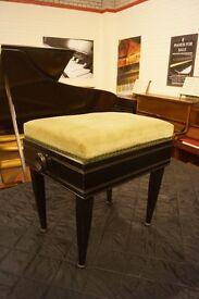 Vintage ebonised adjustable foot stool. Can deliver or post