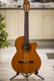 Alhambra CTWE 7FC EWE Electro acoustic flamenco guitar
