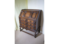 Solid Oak Writing Desk – period 1910 to 1920
