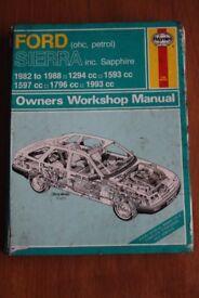 Haynes Ford Sierra ohc, petrol