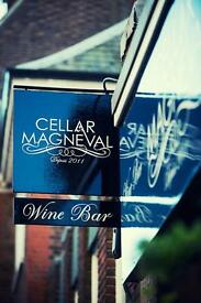 Wine Bar Tenders/ waiters/waitresses required. Competitive salary + tips + staff benefits