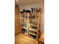 Kitchen/Outdoor Storage Shelves