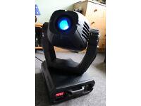 Showtec 575 Explorer spotlights, powered/programable heads