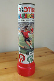 Vintage (1960s) tin Football Kaleidoscope/Green Monk Combex. Look for footballer inside! £6 ovno.