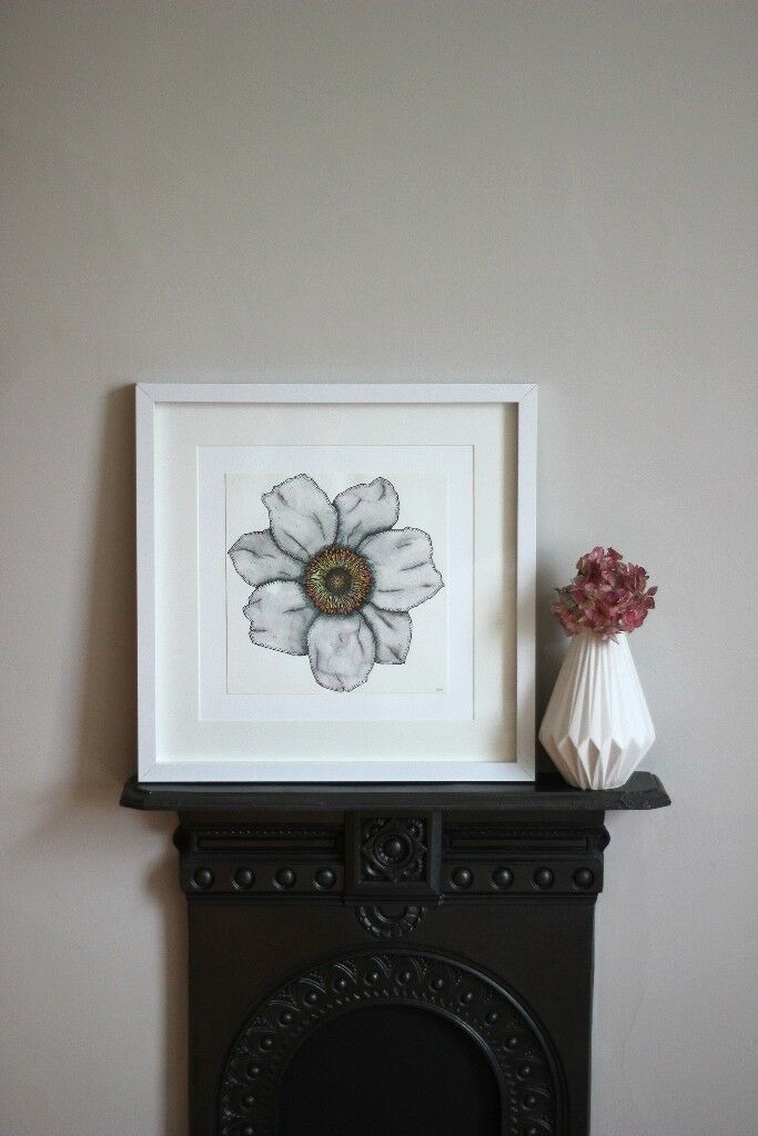Daisy Flower Painting! Gorgeous Original Artwork - Artist Painting, Illustration, Gift, Wall Art