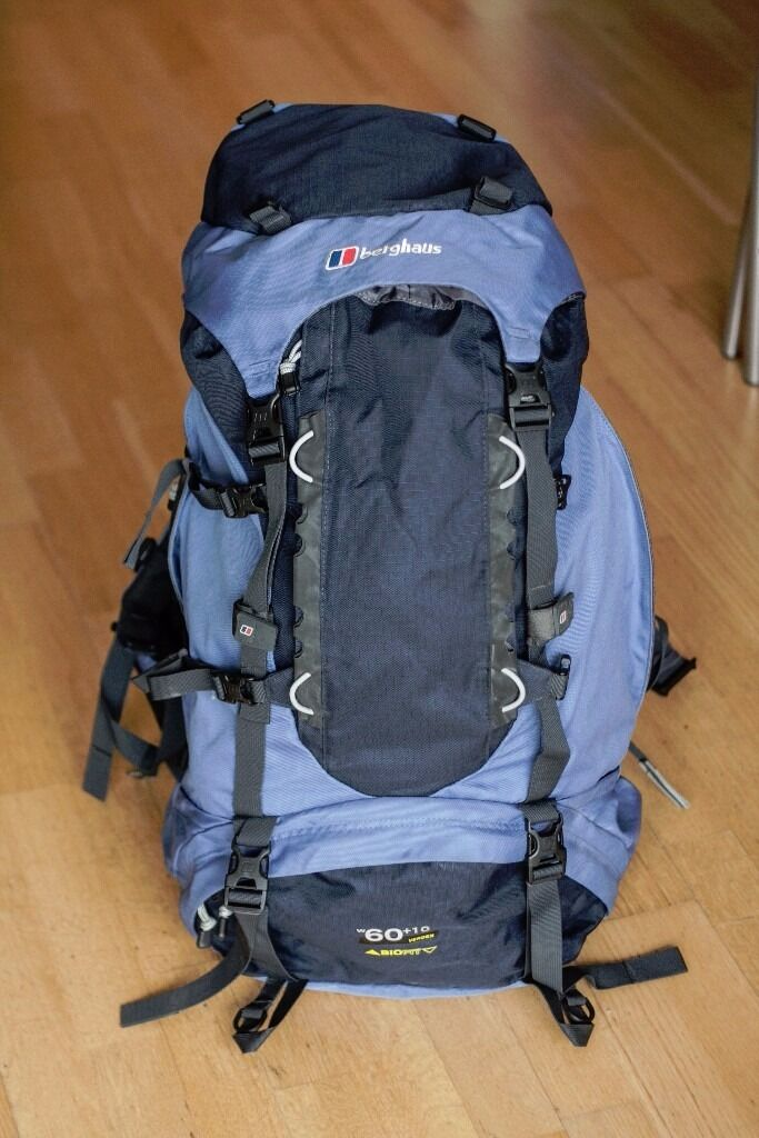 Berghaus Womens Verden 60 10 Rucsac RRP110in Leeds City Centre, West YorkshireGumtree - Cost us £110 at COTSWOLD OUTDOOR few years ago. Specs Backpack with Berghaus for high performance, reliability and durability; the Womens specific Verden 60 10 Rucksack is fully featured and offers excellent value. Comfort and fit are yours with the...