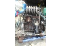 VW 2.4 Diesel Engine and box from 1999 VW Transporter