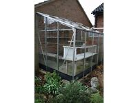 Greenhouse lean-to style 6' x 8' FREE to collector. Must take apart and have own transport