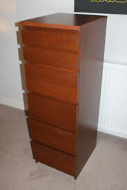Tall IKEA Chest of Drawers