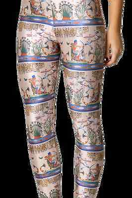NEW Black Milk Clothing Museum LIMITED XXS Egyptian Parchment Leggings Halloween](Black Milk Halloween Leggings)