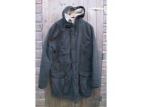 H&M Divided WINTER LINED PARKA JACKET - MOD Style - size Large