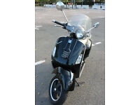 Nice looking, Vespa GTS300 ie HPI clear, great runner