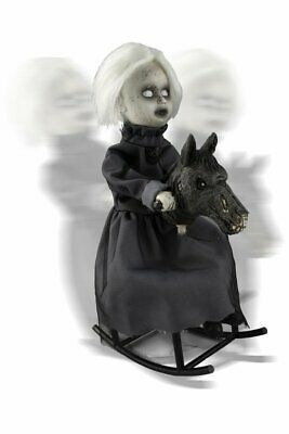 Halloween Decorations Animated Props (Halloween Decoration ANIMATED ROCKING HORSE PROP Haunted House IN)