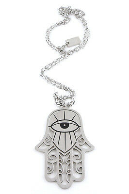 KILLSTAR HAMSA NECKLACE STAINLESS STEEL OCCULT WITCH PAGAN SPIRITUAL GOTHIC Fashion Jewelry