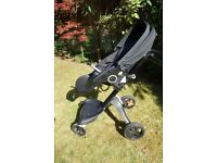 Stokke xplory True Black travel system from Harrods for sale