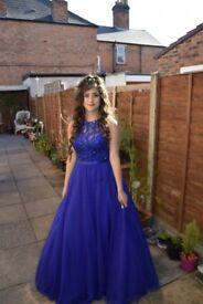 Blue dress size 8 -10 , £380 or BEST OFFER!