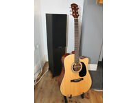 Farida D-10CE Electro Acoustic Guitar NEW unwanted gift