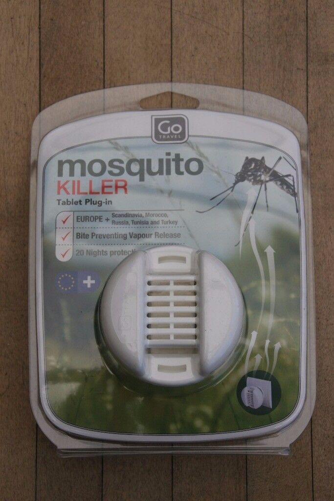 Go Travel Plug-In Mosquito Killer (Europe) - Brand New