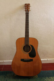 Fender Acoustic Guitar. Gibson Deluxe Tuners