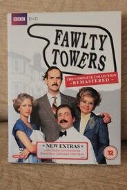 Fawlty Towers Complete TV Series DVD Box Set - Very good condition