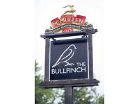 Full Time Sous Chef - Live In - £18,500 to £21,000 - Bullfinch - Riverhead - Seven Oaks, Kent