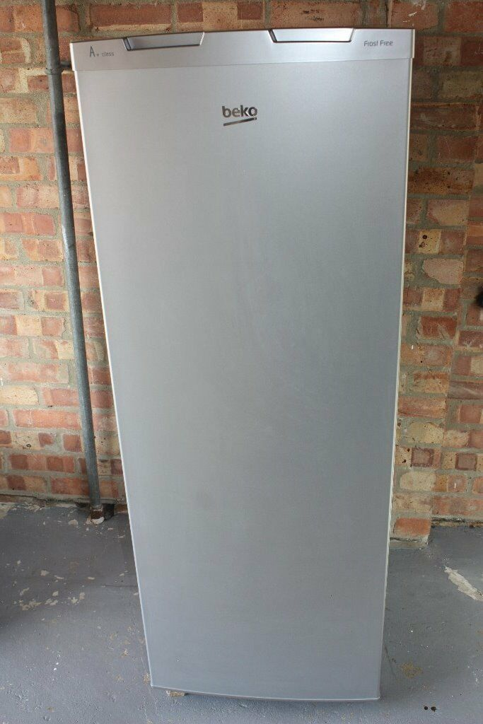 Tall Freezer Beko Model Fxf465 In Matt Silver A