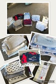 BABY BOYS *HUGE* DESIGNER 3-6 BUNDLE!