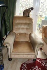 2 Comfy Club Chairs