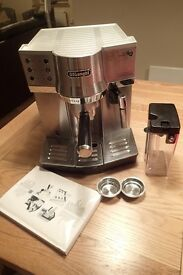De'Longhi EC860 Coffee machine with Gaggia Grinder and Knock-box