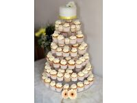 8 tier perspex cupcake stand