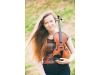 Isla gives Scottish traditional fiddle and classical violin lessons in Edinburgh