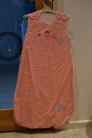 Gro Company Grobag Girls Summer Baby Sleeping Bag Size 6-18 months 1.0 Tog
