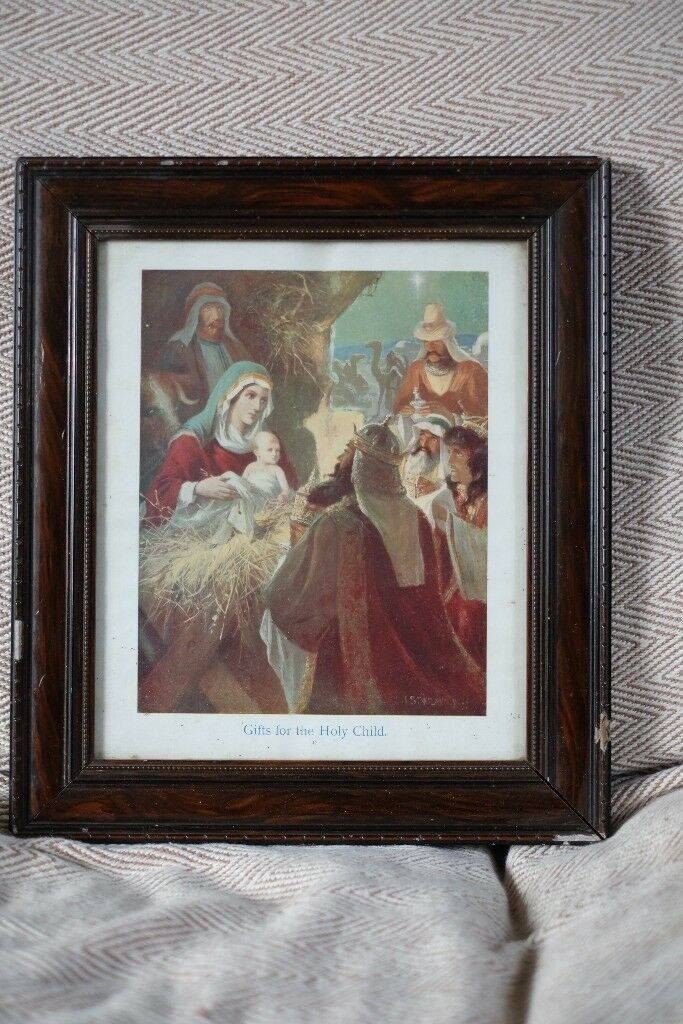 3 x Rare Antique Religious Prints by Charles Joseph Staniland (1838 - 1916)