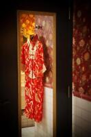 Gorgeous Chinese Wedding Dress (Cheong-sam) w/Shoes
