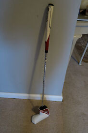 TAYLORMADE WHITE SMOKE PUTTER- REDUCED TO GBP30 FOR QUICK SALE